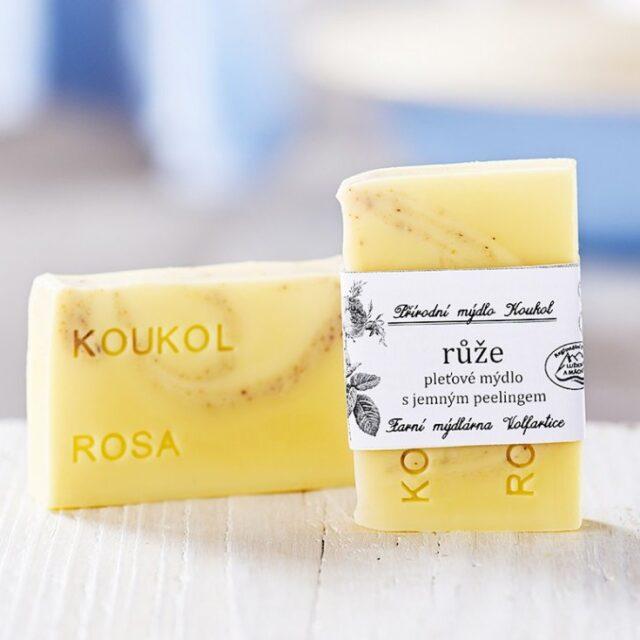 přírodní české mýdlo pleťové