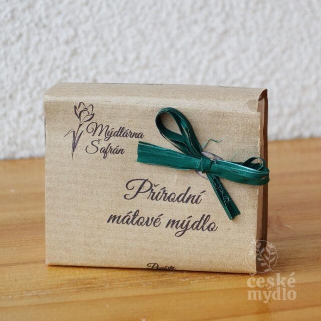přírodní české mýdlo mátové