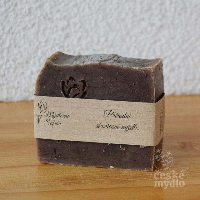přírodní české mýdlo skořicové