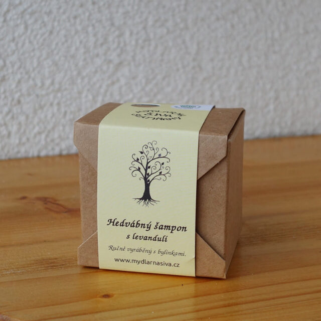 české mýdlo - šampon s levandulí