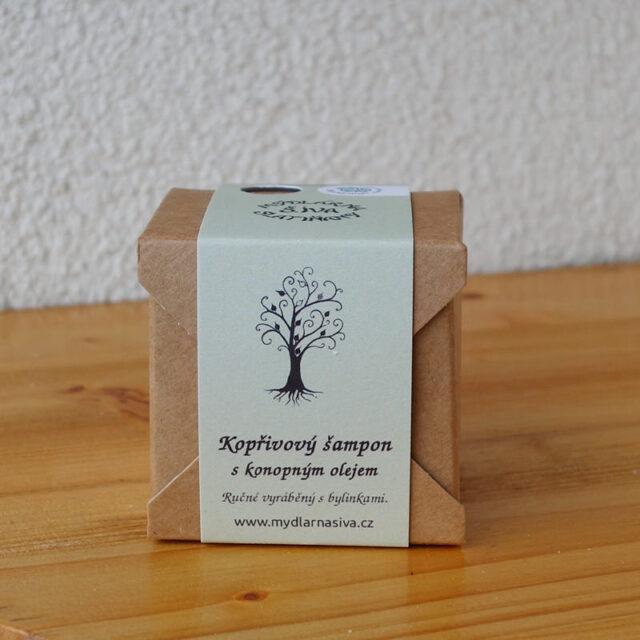 české mýdlo - šampon s konopným olejem