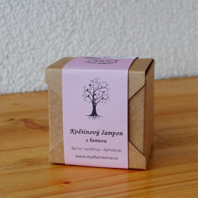 české mýdlo - šampon s hennou