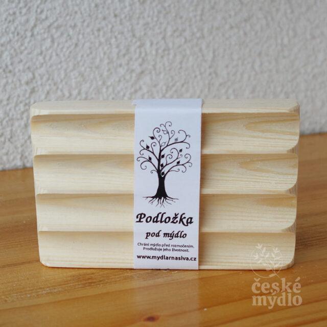 české mýdlo - dřevená mýdlenka Š.IVA z borovice