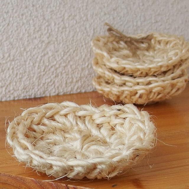 české mýdlo podložka mýdlenka ze sisalu