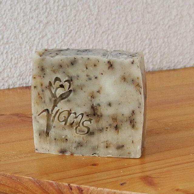 cešké mýdlo přírodní peelingové s levandulí