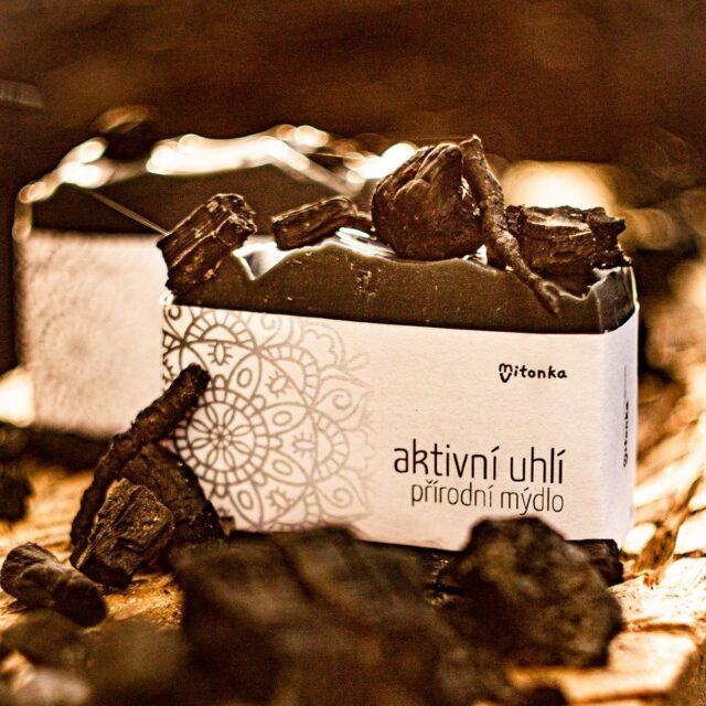 české mýdlo - mýdlárna Mitonka - mýdlo s aktivním uhlím