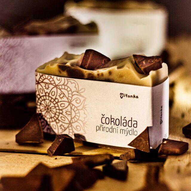 české mýdlo - mýdlárna Mitonka čokoládové mýdlo