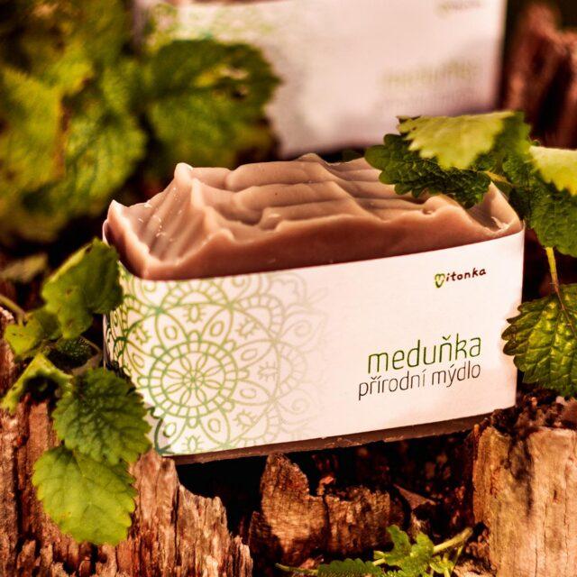 české mýdlo - mýdlárna Mitonka měduňkové mýdlo