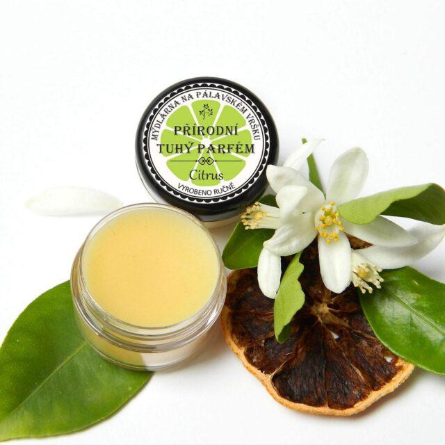 Mýdlárna na Pálavském Vršku - tuhý parfém citrus