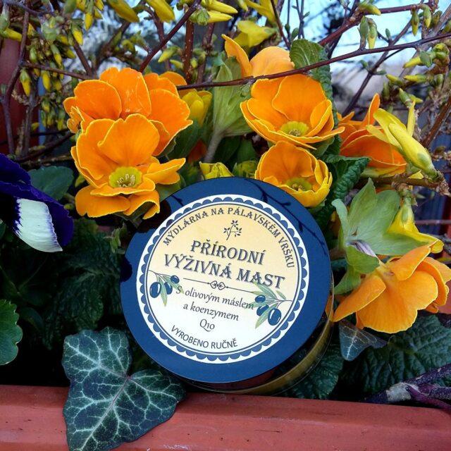 Mýdlárna na Pálavském Vršku - výživná mast s olivovým máslem