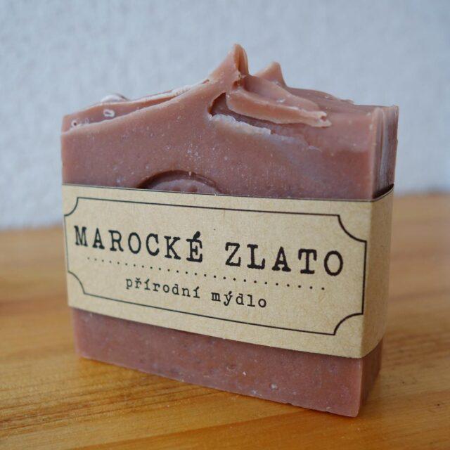 české mýdlo - mýdlárna Nežárka - přírodní mýdlo Marocké zlato