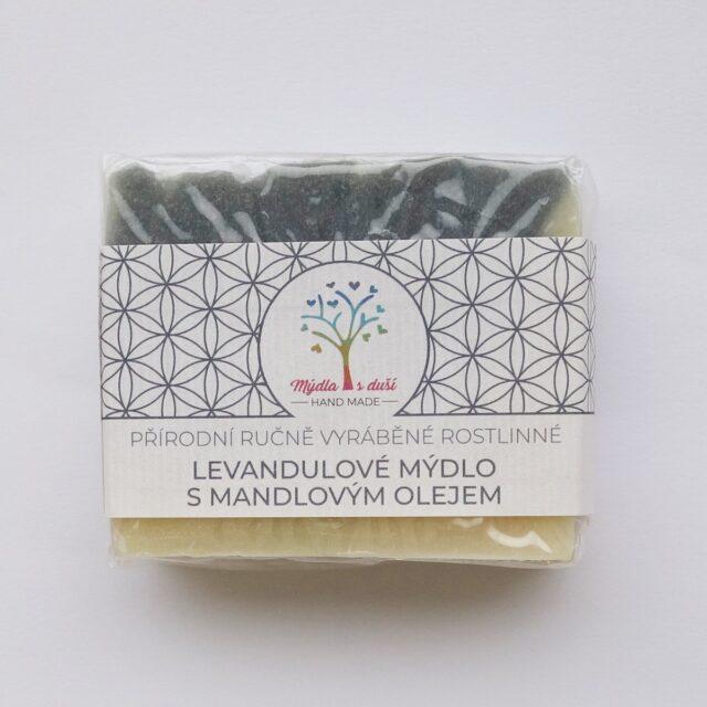 mýdla s duší - levandulové mýdlo
