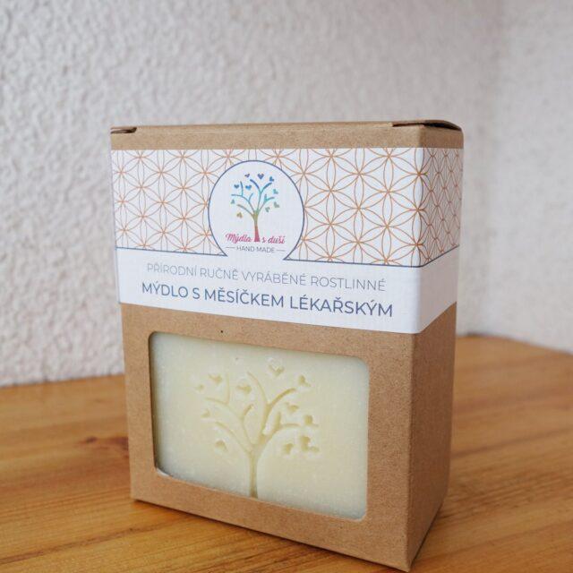 mýdla s duší - měsíčkové v krabici