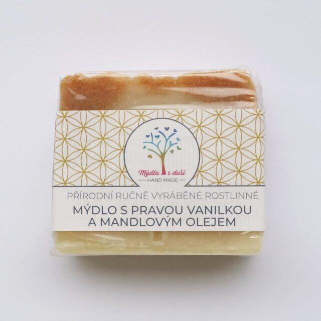 mýdla s duší - vanilka a mandlový olej