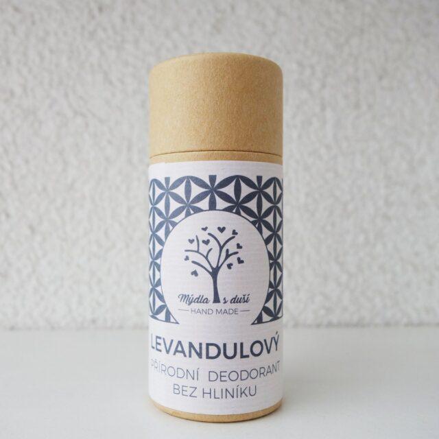 mýdla s duší - deodorant levandulový