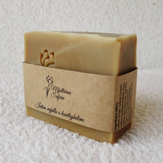 české mýdlo intim s kontryhelem - výrobce mýdlárna Šafrán