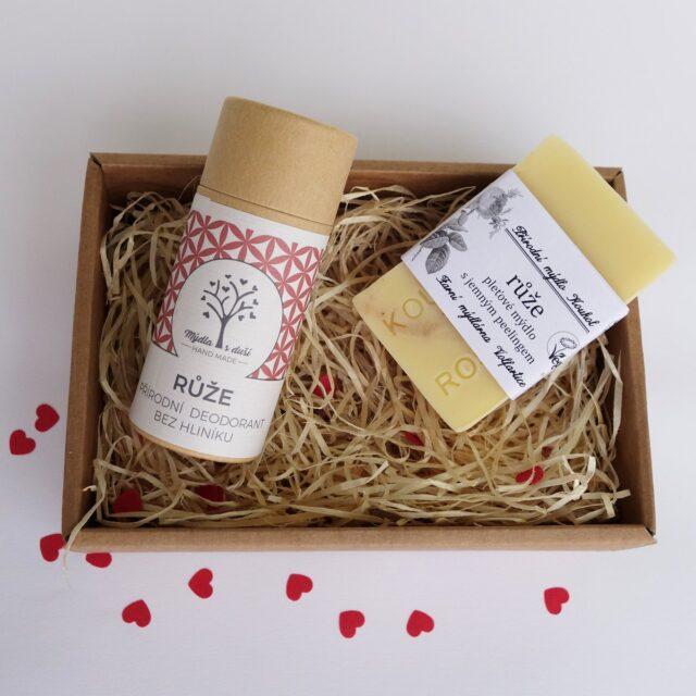 české mýdlo - sada s deodorantem