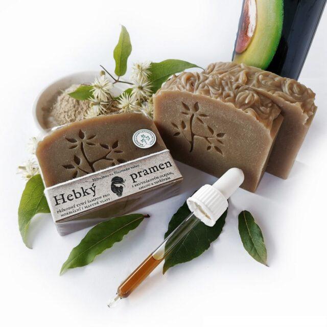 české mýdlo - tuhý šampón